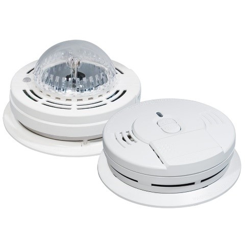 Hearing Impaired Smoke Strobe Detector