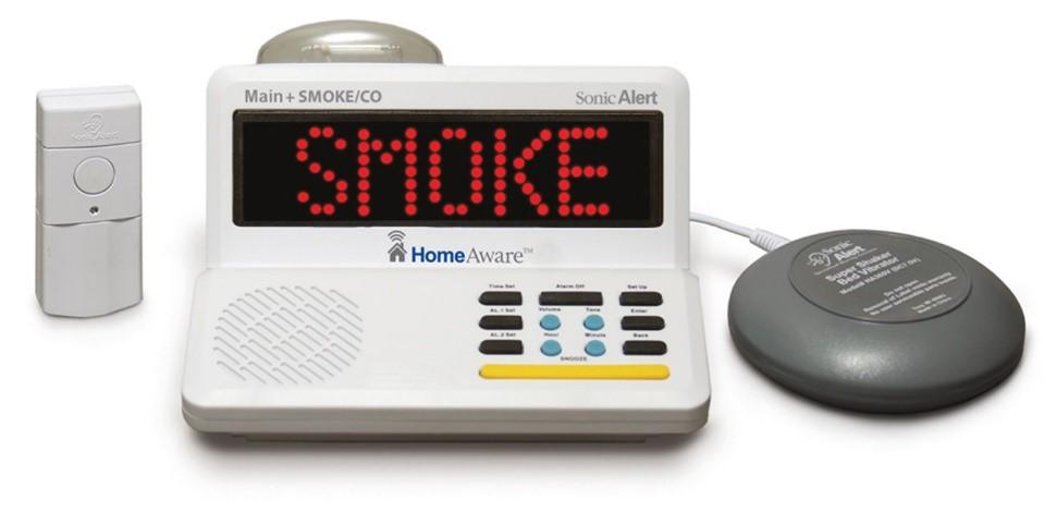 Hearing Impaired Smoke Alarm